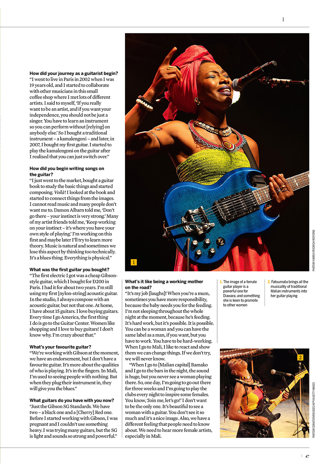 Fatoumata Diawara Photography Adam Gasson