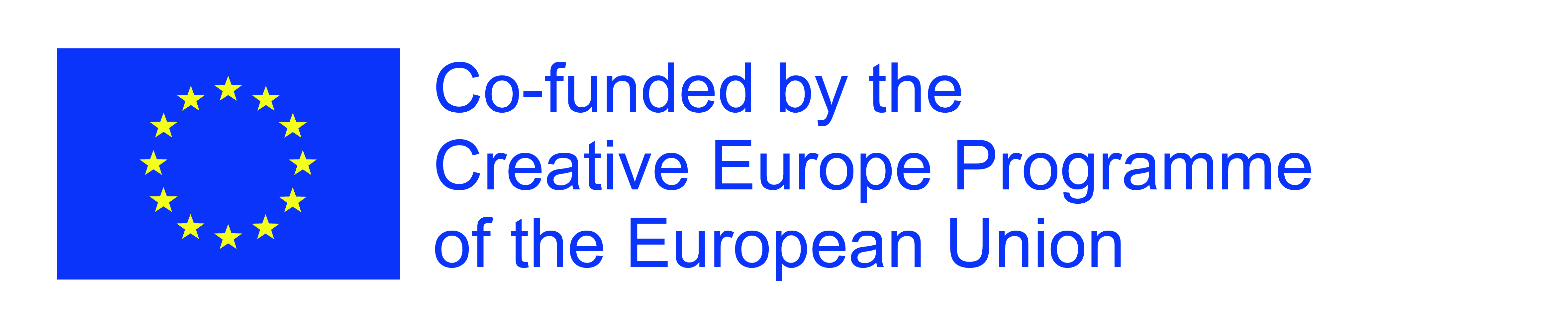 Logo: Co-funded by the Creative Europe programme of the European Union