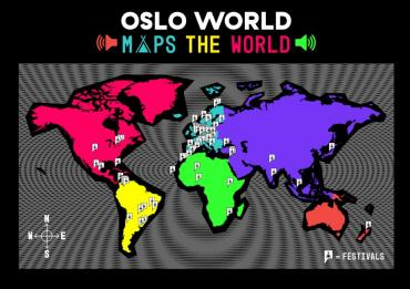 Oslo World maps the festival world